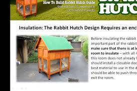 Plans For Building A Rabbit Hutch Outdoor Rabbit Hutch Designs How To Insulate A Hutch Part 01 Youtube