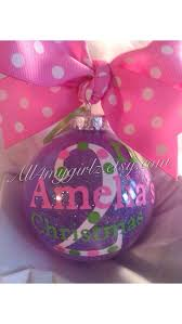 babys 2nd ornament personalized custom with bow