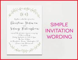 formal invitation wording luxury sles of wording for wedding invitations photos of