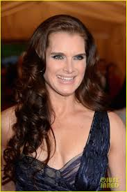 brooke shields u0026 michelle dockery met ball 2012 photo 2658408