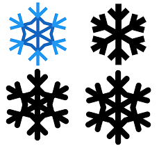 snowflake icon free download png and vector