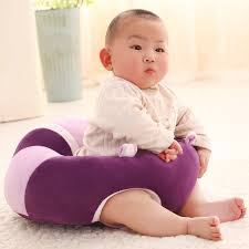 Baby Learn To Sit Chair Baby Support Seat Learn Sit Soft Chair Cushion Cute Sofa Plush