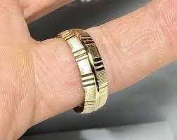 Mens Monogram Rings New 10k Solid Gold Men U0027s Signet Ring Men Monogram Ring