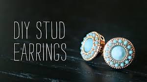 diy earring studs diy stud earrings