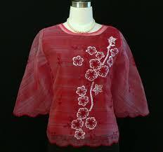 kimona dress burgundy kimona 5267 barongs r us