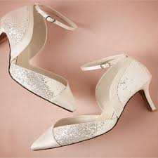Wedding Shoes Heels 2015 Ivory Wedding Shoes Classic Pointed Toe Mid Heel Sandals