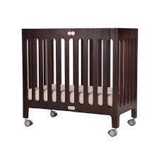 Mini Crib With Storage Alma Mini Solid Wood Crib Bloom