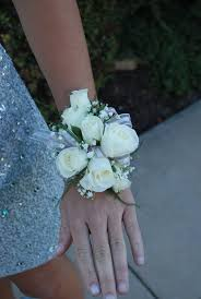 white corsages for prom white spray wrist corsage vogue flowers and gifts