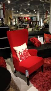 Nice Red Accent Chair From Our Home SM North EDSA Living Room - Red accent chair living room