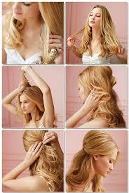 Hochsteckfrisurenen Selber Machen Glatte Haare by Die Besten 25 Locken Lange Haare Ideen Auf