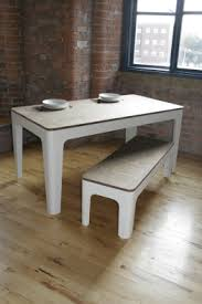 White Dining Room Bench by Creative Ideas Dining Table And Bench Set Shining Inspiration