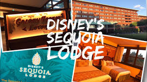 chambre golden forest disney s sequoia lodge hotel disneyland lake side room
