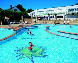 Outside Pool Oasis Fun Pools