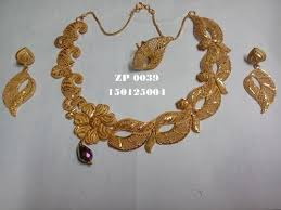 gold costume necklace images Fancy costume necklace set gold forming necklaces zeal platers jpg
