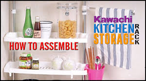 Stainless Steel Kitchen Shelves by How To Assemble Kawachi Multifunction Home Stainless Steel Kitchen