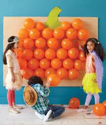 halloween games pumpkin balloon pop party games
