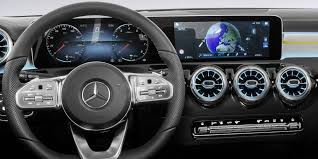 future mercedes interior 2018 mercedes benz a class interior revealed photos 1 of 11