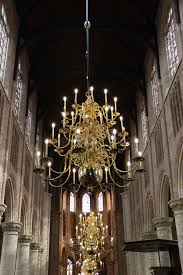 Church Chandelier A Golden Chandelier Inside A Church Stock Image Image Of Decor