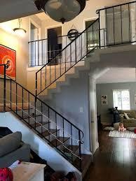 stair railing remodel hometalk