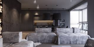 minimalist interior design for spacious home with neutral color