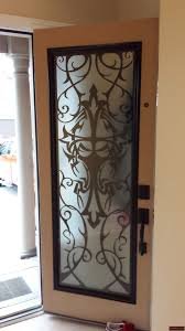 Metal Door Designs Art Noveau Style Lasercut Metal Transom Lusso Design Entry