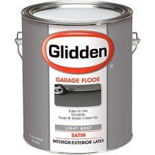 glidden garage floor paint grab n go eggshell finish light grey