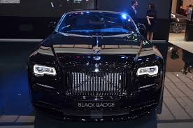 rolls royce badge rolls royce handed over a wraith black badge to the first female owner
