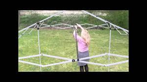 Steel Pop Up Gazebo Waterproof by Airwave 2 5x2 5 Pop Up Gazebo Windbars Youtube