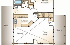 mcg floor plan the loft tiny house swoon storage stairs modern plans small two