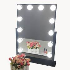 Tabletop Vanity Mirrors With Lights Hollywood Makeup Vanity Mirror With Light Dimmable Lighted
