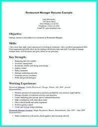 Cocktail Waitress Resume Example by Restaurant Skills Resume Free Resume Example And Writing Download