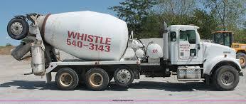 kenworth concrete truck 2000 kenworth w900b cement mixer truck item c2755 sold