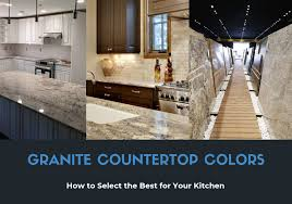 best color for low maintenance kitchen cabinets granite countertops colors select the best one for your kitchen