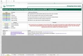 free startup e commerce financial model excel downloads eloquens