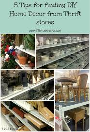thrift store diy home decor 5 tips for finding home decor at thrift stores thrift shop and diys