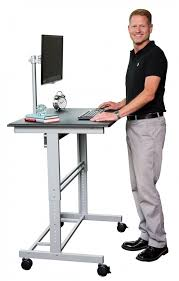 adjustable stand up desk with monitor mount stand up desk store