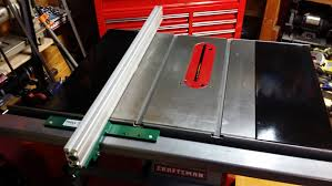 aftermarket table saw fence systems table saw fence how i modified to biesemeyer style fence system 1