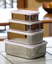 stainless steel canisters kitchen stainless steel food containers for the home
