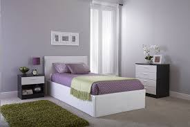 Single Ottoman Storage Bed by Seattle Ottoman Storage Bed Side Lift Opening White 3ft Single