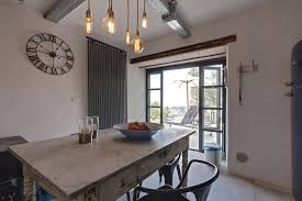 chic industrial style holiday cottage in tuscany idesignarch