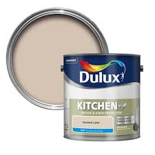 dulux kitchen caramel latte matt emulsion paint 2 5l departments