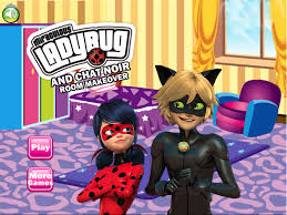 Game My New Room - ladybug and chat noir room makeover play best free mobile games