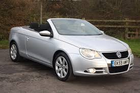 convertible volkswagen 2006 used volkswagen eos cars for sale motors co uk