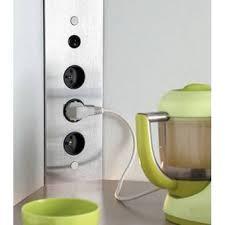 prise d angle cuisine prise electrique design cuisine maison design bahbe com