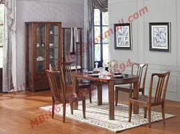 Solid Wood Dining Room Sets Wooden With Glass Door Sideboards For Wine Cabinet In Dining Room