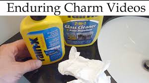 how to clean glass shower doors with hard water stains keeping shower doors clean with rain x youtube