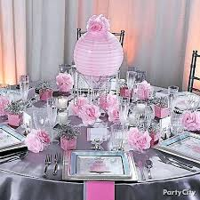 bridal shower table decorations fascinating bridal shower decoration bridal shower