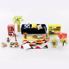 185 Best Diy Furniture Images by Robotime 3d Puzzle Diy Handmade Furniture Miniature Sofa Sets