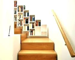 stairway wall mounted bookcase wall mounted bookcase fetchmobile co