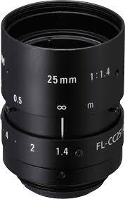 25 mm c mount lens ricoh fl cc2514a 2m vision dimension